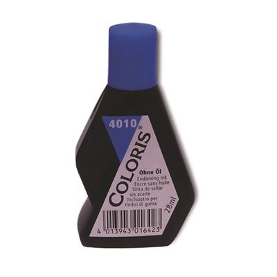 Leimasinväri STK Coloris 4010 28ml sininen