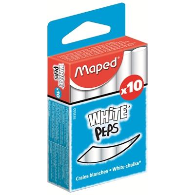 Taululiitu Maped valkoinen/10 kpl