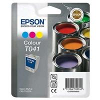 Värikasetti Mustesuihku Epson Stylus T041 3-väri