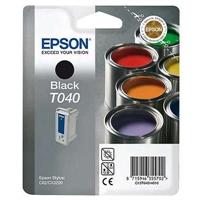 Värikasetti Mustesuihku Epson Stylus T040 musta