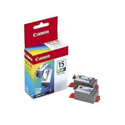 Värikasetti Mustesuihku Canon BCI-15C 3-väri/3