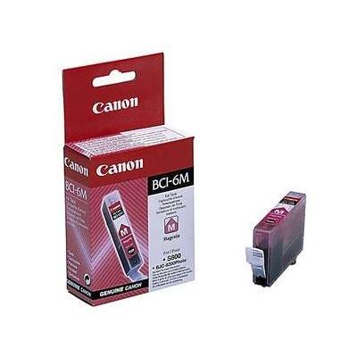 Värikasetti Mustesuihku Canon BCI-6M punainen