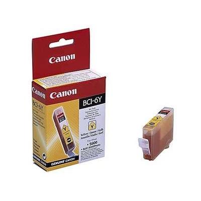 Värikasetti Mustesuihku Canon BCI-6Y keltainen