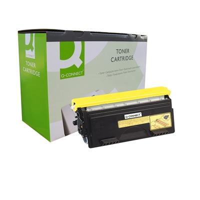 Värikasetti Laser Q-Connect Brother TN6600 musta