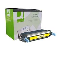 Värikasetti Laser Q-Connect HP CLJ 4700 keltainen
