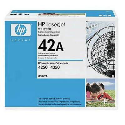 Värikasetti Laser HP Q5942A LJ 4250 musta