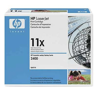 Värikasetti Laser HP Q6511X LJ 2400 musta