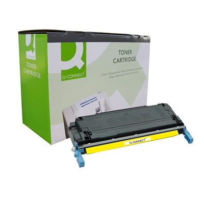 Värikasetti Laser Q-Connect HP CLJ 5500 keltainen