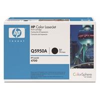 Värikasetti Laser HP Q5950A CLJ 4700 musta