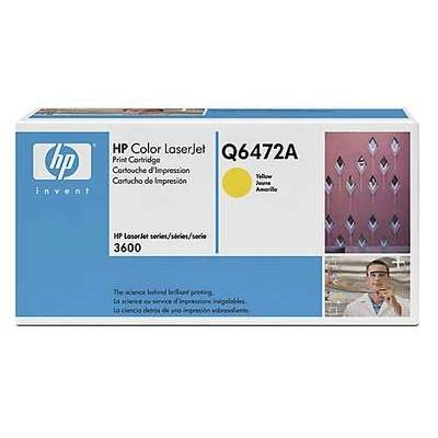 Värikasetti Laser HP Q6472A CLJ 3600 keltainen