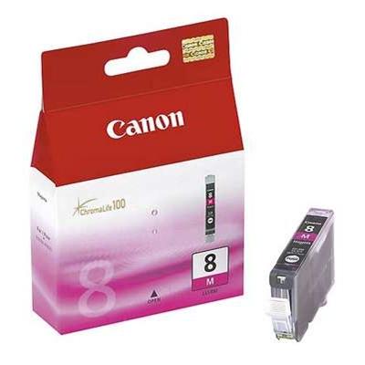 Värikasetti Mustesuihku Canon CLI-8M punainen