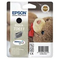 Värikasetti Mustesuihku Epson Stylus T0611 musta