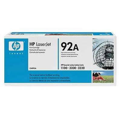 Värikasetti Laser HP C4092A LJ1100A musta