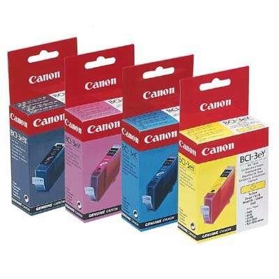 Värikasetti Mustesuihku Canon BCI-3EM punainen
