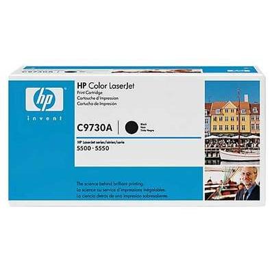 Värikasetti Laser HP C9730A CLJ 5500 musta