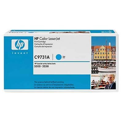 Värikasetti Laser HP C9731A CLJ 5500 sininen
