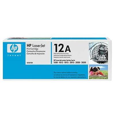 Värikasetti Laser HP Q2612A LJ 1010 musta