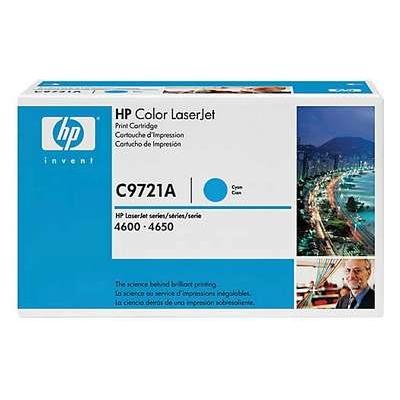 Värikasetti Laser HP C9721A CLJ 4600 sininen