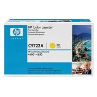 Värikasetti Laser HP C9722A CLJ 4600 keltainen