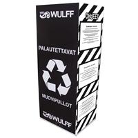 Palautuslaatikko muovipulloille ja kennoille (max 2 kpl /tilaus)