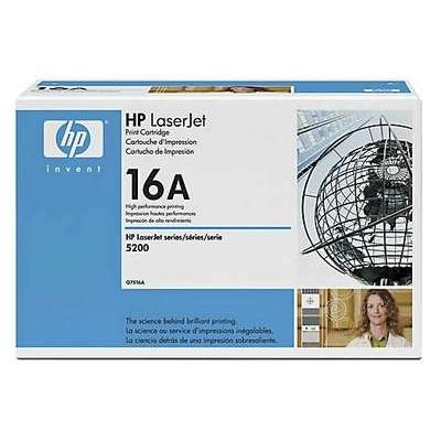 Värikasetti Laser HP Q7516A LJ 5200 musta