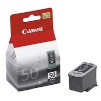 Värikasetti Mustesuihku Canon PG-50 musta