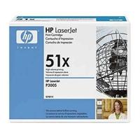 Värikasetti Laser HP Q7551X LJ P3005/M3035 musta