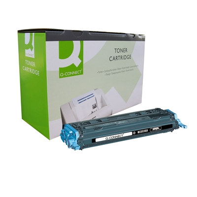 Värikasetti Laser Q-Connect HP CLJ 1600/2600 musta