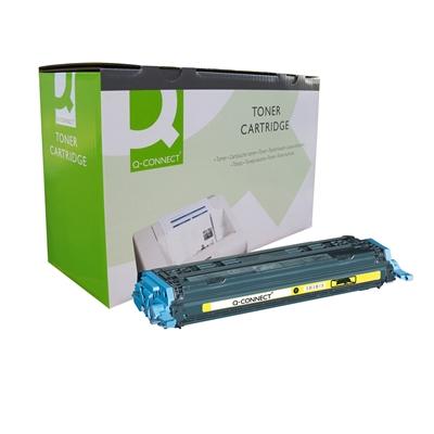 Värikasetti Laser Q-Connect HP CLJ 1600/2600 kelt
