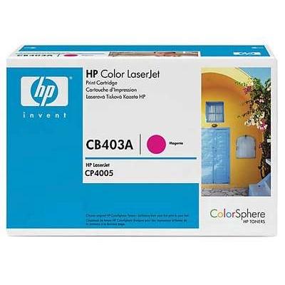 Värikasetti Laser HP CB403A CLJ CP4005N punainen