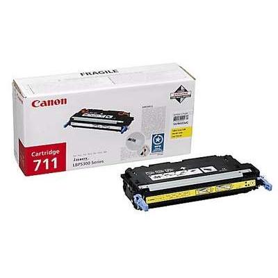 Värikasetti Laser Canon 711Y LBP 5300 keltainen