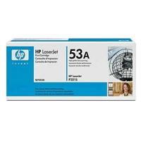 Värikasetti Laser HP Q7553A LJ P2015 musta