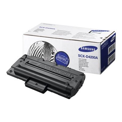 Värikasetti Laser Samsung SCX-4200 musta SCX-D4200A