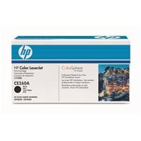Värikasetti Laser HP CE260A CLJ CP4020 4025 4525 4540 musta