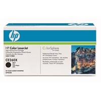 Värikasetti Laser HP CE260X CLJ CP4525 musta