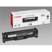 Värikasetti Laser Canon 718 MF8330/8350/LBP7200C musta
