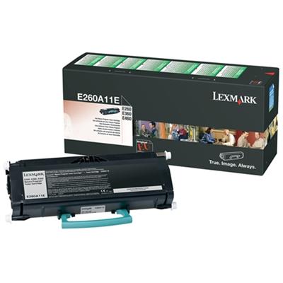 Värikasetti Laser Lexmark E260/360/460 prebate musta