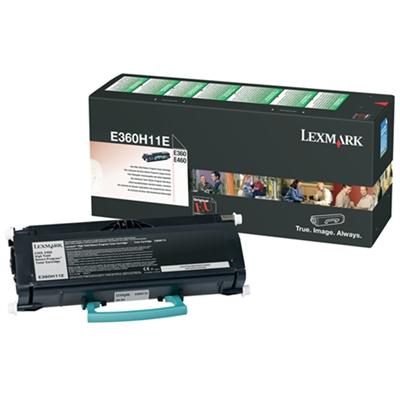 Värikasetti Laser Lexmark E360/460 E360H11E musta
