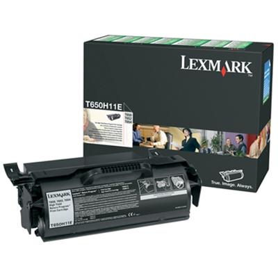 Värikasetti Laser Lexmark T650/652/654/656 musta