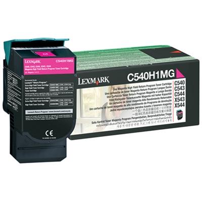 Värikasetti Laser Lexmark C540/543/544/X543/544/5 punainen