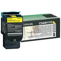 Värikasetti Laser Lexmark C540/543/544/X543/544/5 keltainen