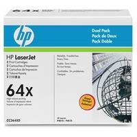 Värikasetti HP CC364XD CLJ musta dual pack /2