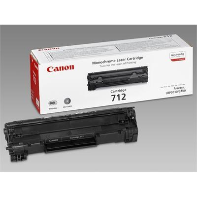 Värikasetti Laser Canon 712 LBP 3010/3100 musta