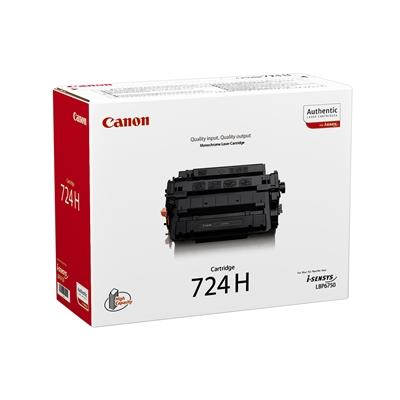 Värikasetti Canon 724H LBP6750DN/6780X musta