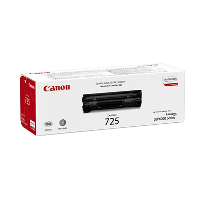 Värikasetti Canon 725 LBP6000 LBP6020  LBP6030 musta