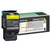 Värikasetti Lexmark C544,X544 C544X1YG kelt