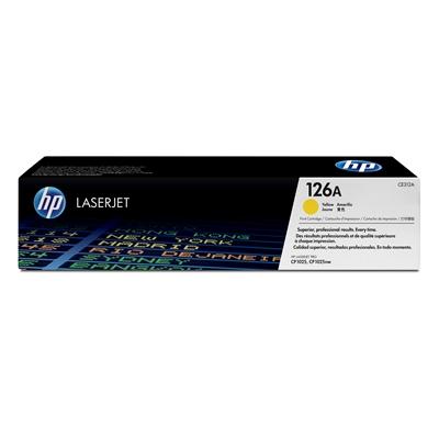 Värikasetti HP CE312A CLJ Pro Cp1025 keltainen