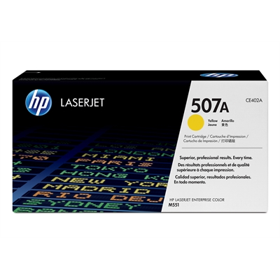 Värikasetti HP CE402A CLJ M551 keltainen