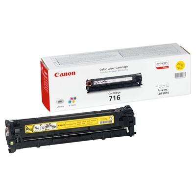 Värikasetti Laser Canon 718 MF8330/8350/LBP7200C keltainen