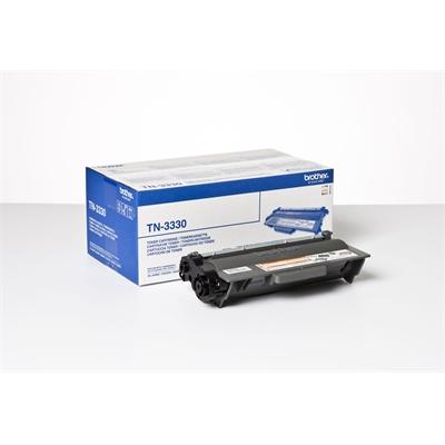 Värikasetti Laser Brother TN-3330 musta